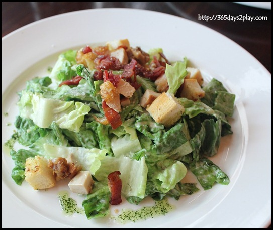 Molly Roffey - Chicken Caesar Salad- $9.80