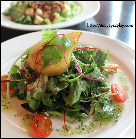 Molly Roffey -Irish Salad with Packham Pear- $11.80