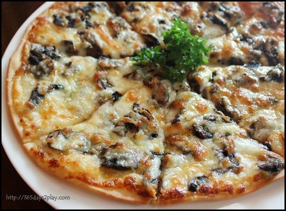 Molly Roffey -  Mushroom Medley Pizza- $13.80