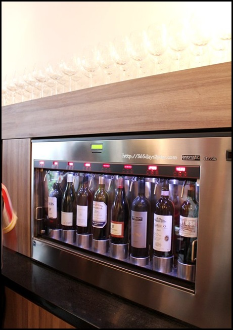 Praelum Wine Bistro - Enomatic Wine Dispenser