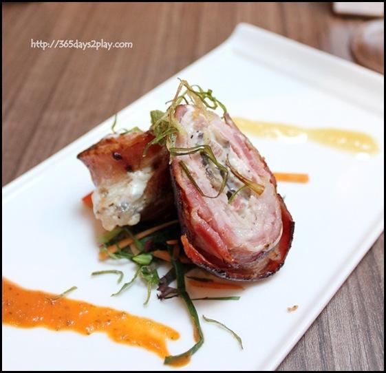Praelum Wine Bistro - Roasted Pork Parcels (2)