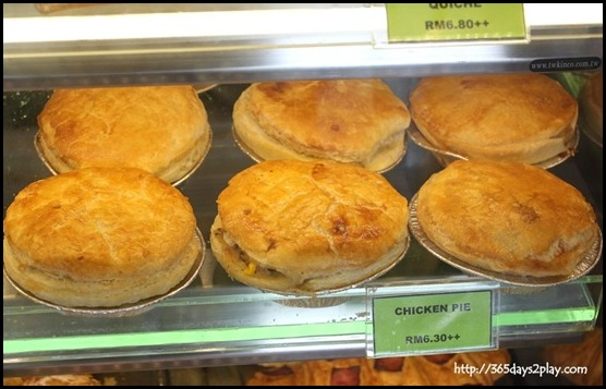 The Bakery at Maxims Genting Hotel - Chicken Pies