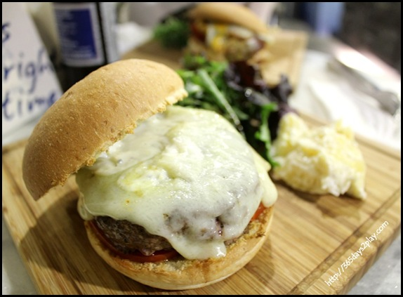 Two Blur Guys - Prime Beef Burger $12.50