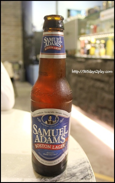 Two Blur Guys - Samuel Adams Boston Lager $12