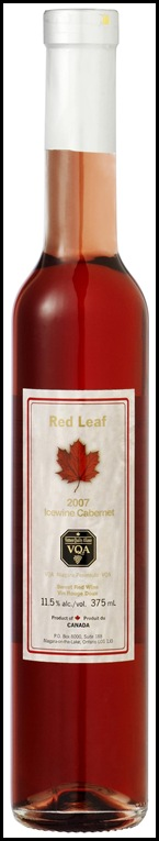 Cold Storage Canada Food Fair - RedLeafIceWineCabernet.375ml HR