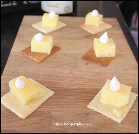 Jaillance Event at Balzac Brasserie - Classic Homemade Lemon Tart