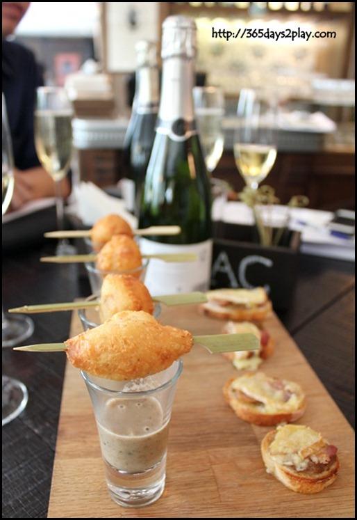 Jaillance Event at Balzac Brasserie - Reblochon Tartiflette and French Bacon