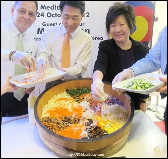 Korea Food Fair - Bibim Bap