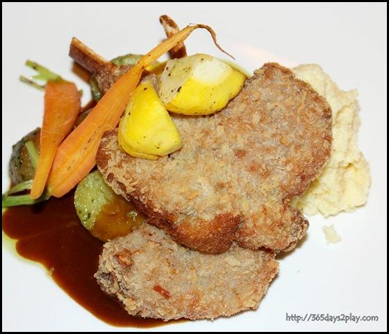 Marmalade Pantry at the Stables - Fried Lamb Chops ($45)