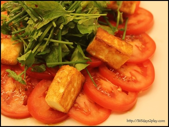 Marmalade Pantry at the Stables -  Haloumi Salad ($21)