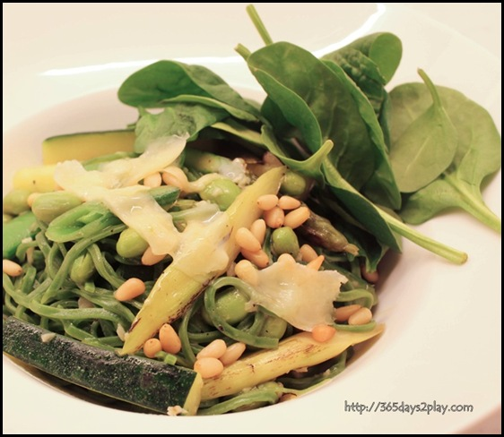 Marmalade Pantry at the Stables - Handcut Spinach Pasta ($24)