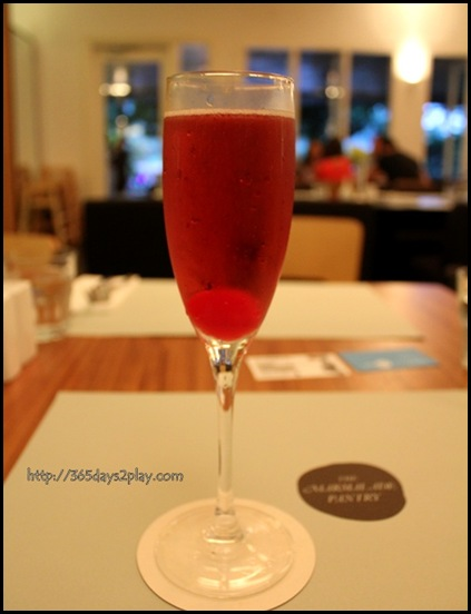 Marmalade Pantry at the Stables -  Kir Royale ($18)