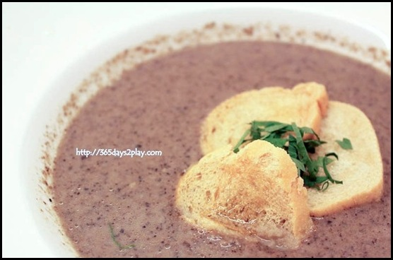 Marmalade Pantry at the Stables - Mushroom Soup ($10) (2)