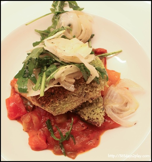 Marmalade Pantry at the Stables - Roasted Snapper ($28)