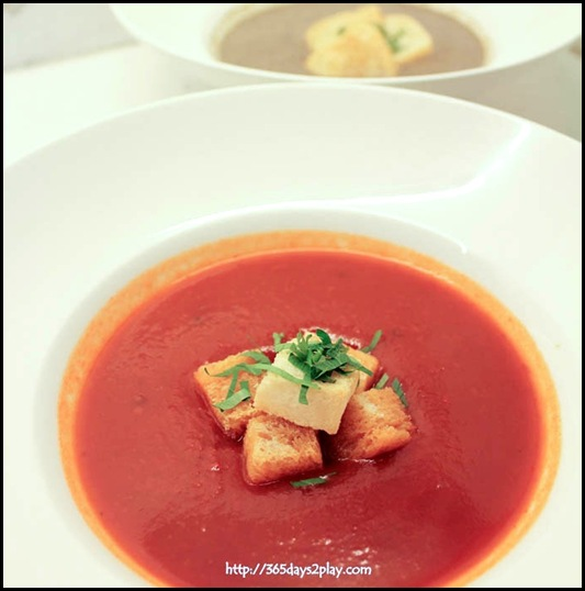 Marmalade Pantry at the Stables - Spicy Tomato Soup ($10)