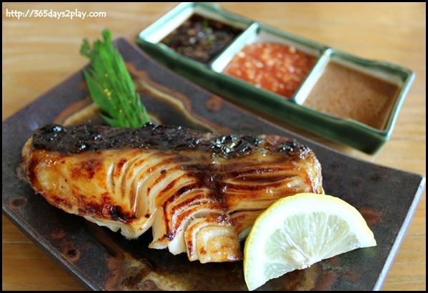 Miyako Japanese Restaurant - Gindara (Cod) in Teriyaki Sauce $25 (1)