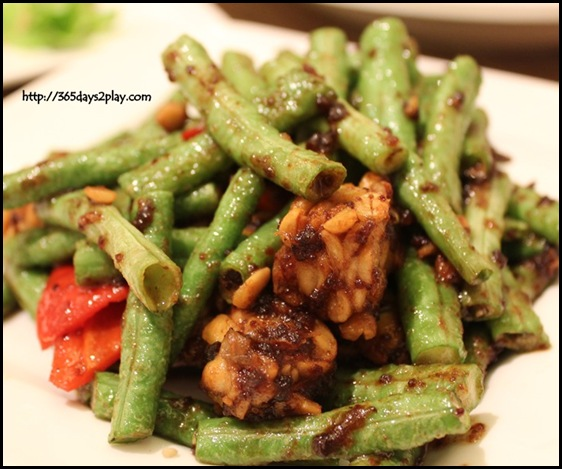 Naive Restaurant - Sambal Long Beans with Tempeh $11 (2)