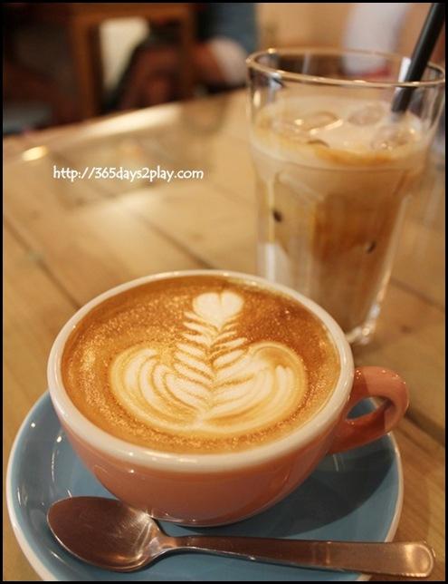 Strangers' Reunion - Cafe Latte $4
