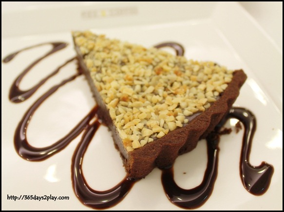Pies and Coffee - Chocolate Almond Tart $8.95  (2)