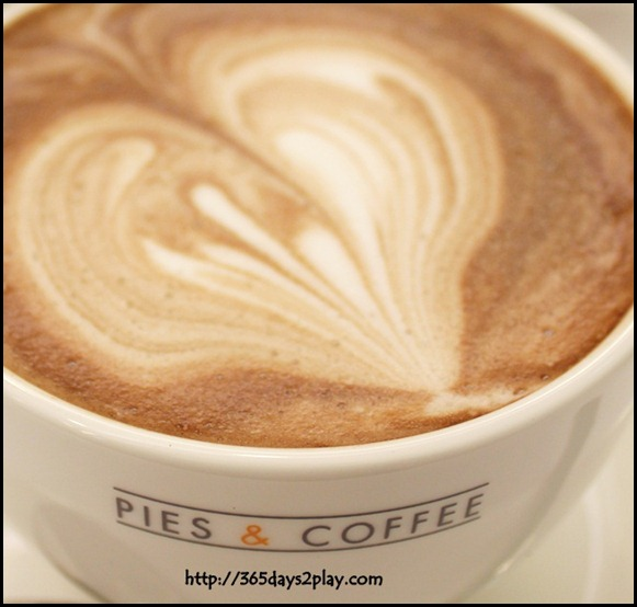 Pies and Coffee - Hot Chocolate $5.50  (1)
