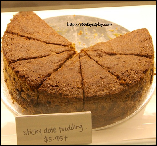Pies and Coffee - Sticky Date Pudding $5.95