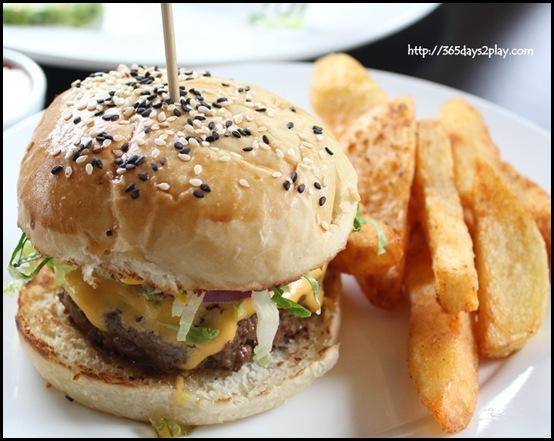 Spruce Signature Burger $18