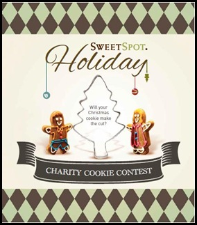 SweetSpot Holiday Charity Cookie Contest