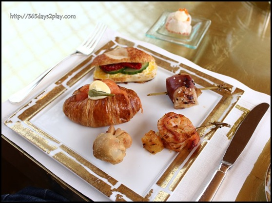 Ritz Carlton Chihuly Lounge Winter Afternoon Tea - Canapes (4)