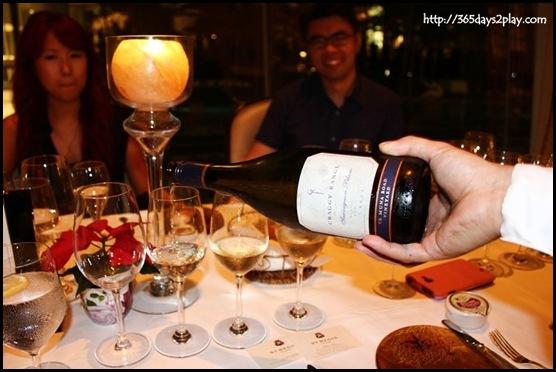 St Regis Brasserie Les Saveurs - Craggy Range Te Muna Sauvignon Blanc from New Zealand