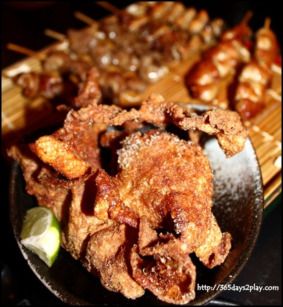 Destiny Eatery - Crispy Fried Chicken Skin (2)