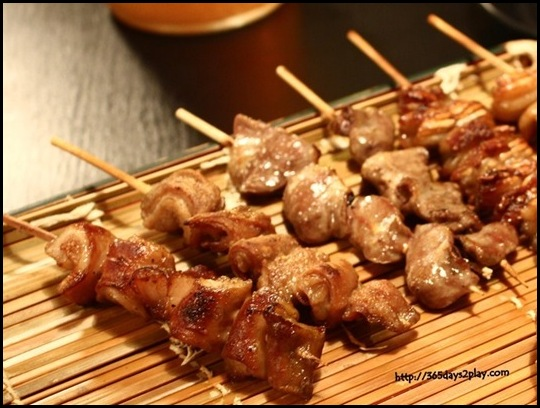 Destiny Eatery - Skewered Meats