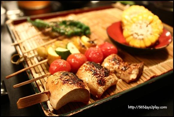 Destiny Eatery - Skewered Vegetables (2)