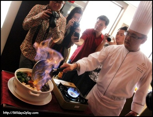 Grand Park Hotel CNY - Chinese New Year Flambe Pen Cai (3)