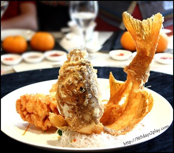Grand Park Hotel CNY - Golden Happiness Crispy Garoupa