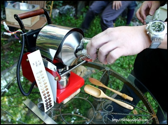 Coffee Area Coffee House - Portable mini coffee roasting machine (2)