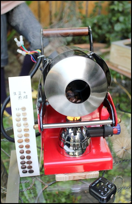 Coffee Area Coffee House - Portable mini coffee roasting machine (8)