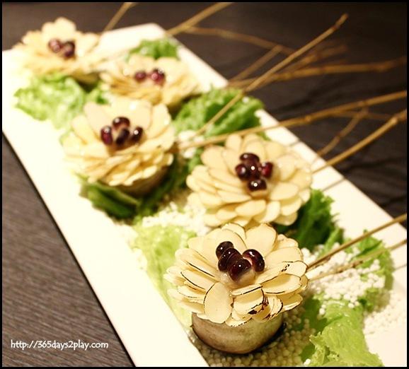 Quan - Deep-Fried Minced Shrimp and Eggplant NT320 SGD$15 (3)