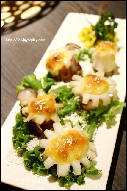 Quan - Sliced Cheese Grilled Octopus NT320 SGD$15