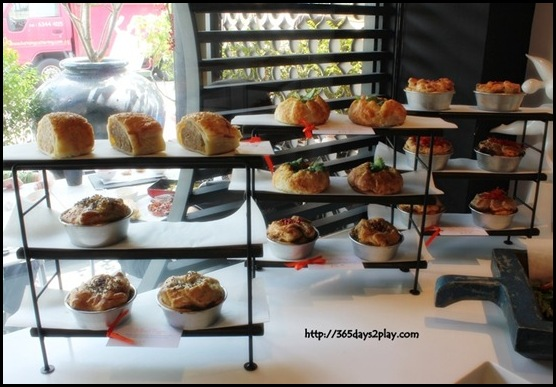 The Big Sheila - Stuffed pastries and pies