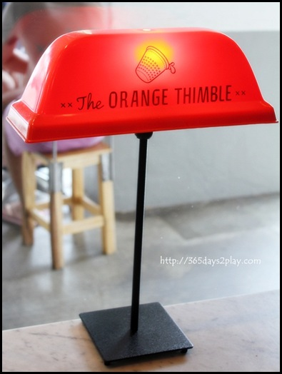 The Orange Thimble - (22)