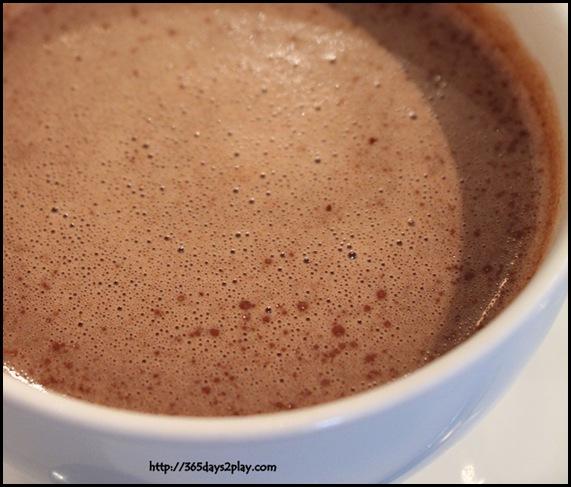 The Orange Thimble - Hot Chocolate