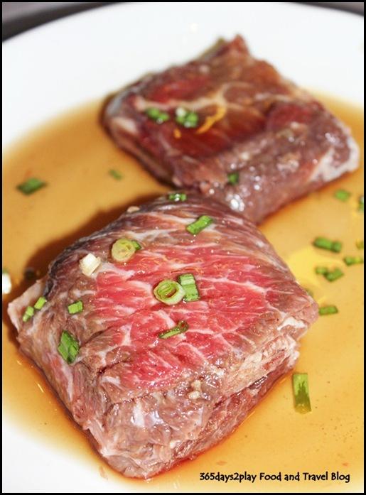 Bornga - Yangnyum Galbi (beef ribs marinated in BORNGA's special sauce; $45) (5)