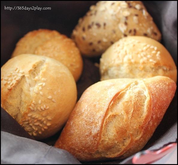 Il Lido Sentosa - Complimentary Bread