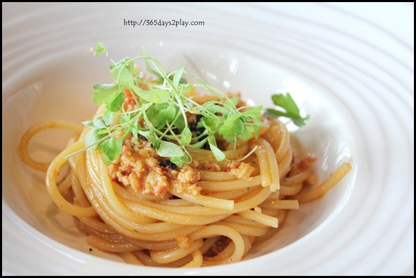 Il Lido Sentosa - Homemade Spaghetti with Lobster Bolognese (1)