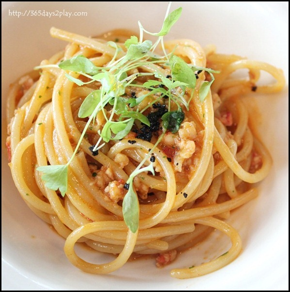 Il Lido Sentosa - Homemade Spaghetti with Lobster Bolognese (2)