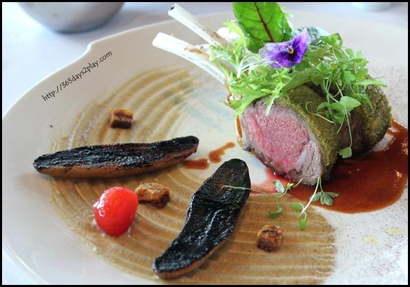 Il Lido Sentosa - Lamb Rack with Smoked Eggplant and Fingerling Potatoes $58 (2)