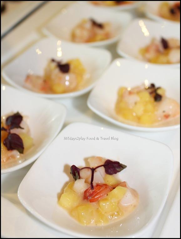 Museo Quayside Isle - Mango Prawn Salad