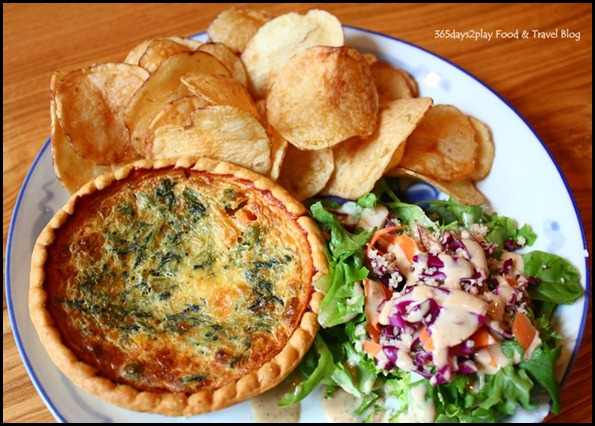 Group Therapy Cafe - Vegetable Quiche (2)