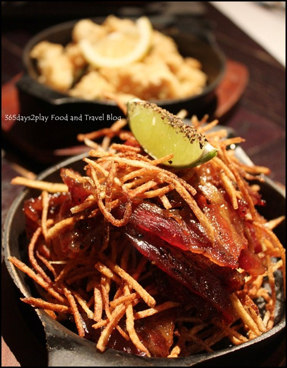 The Pelican Seafood Bar & Grill - Black Peppered Candied Bacon ($18)