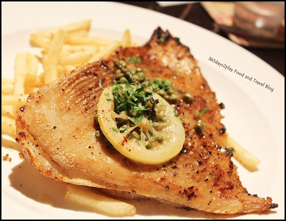 The Pelican Seafood Bar & Grill - NZ Skate Wing Chop ($32)  (4)